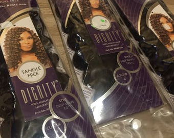 dignity deep wave hair extensions x3 packs