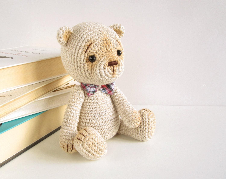 PATTERN: Classic teddy bear 4-way jointed Amigurumi