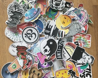 Surprise: 15 random stickers for you! Tumblr/grunge/indie...