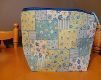 Patchwork - Zipper Project Bag
