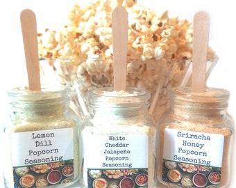 Party Dip/Popcorn Bar/Popcorn Seasoning/Gourmet Popcorn/Popcorn Bowl/Popcorn/Foodie Gift/Food Gift/Seasonings Gifts/Wedding Favors