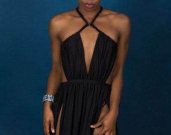 Black Statement Dress UK8-10