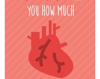 "Nurse Week Appreciation Mini Cards - Printable Download - ""I aorta tell you how much I appreciate you"" - Great card for Nurses"