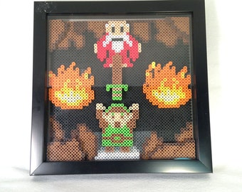 Legend of Zelda Inspired Pixel Shadowbox