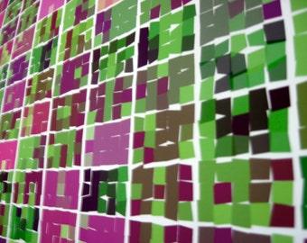 "Math Art Digital Print  - ""yahtzee Rolls"""