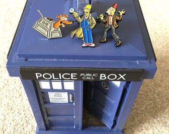 SALE! Dr Who x Simpsons enamel pins set