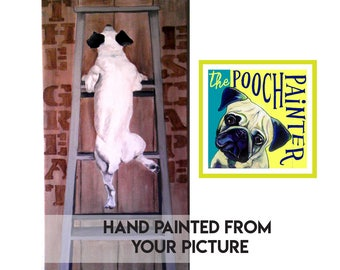 Custom Pet Painting Custom dog painting