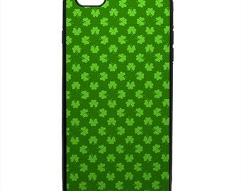 St Patrick's Shamrock Print Pattern Phone Case Samsung Galaxy S5 S6 S7 S8 S9 Note Edge iPhone 4 4S 5 5S 5C 6 6S 7 7S 8 8S X SE Plus