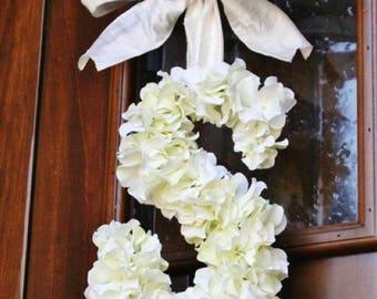 Wedding Flower Initial