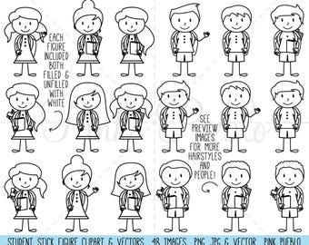 christmas stick figure clipart christmas stick figure family rh etsy com stick figure clipart stick people clip art with sayings