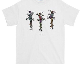 PARTY GECKOS Short-Sleeve T-Shirt