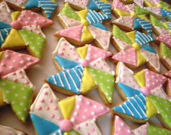 One Dozen Pinwheel Sugar Cookies