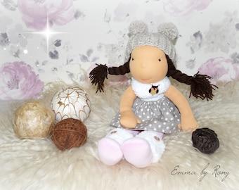 FREE SHIPPING! Waldorf doll, waldorf inspired doll, steiner doll, doll waldorf, cloth doll, fabric doll, cuddle doll, handmade