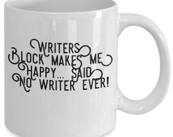 Writer's block - no!