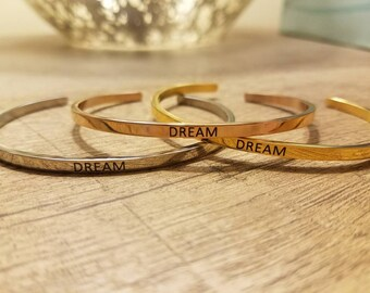 "Disney ""Dream"" Cuff Bracelet"