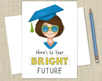 Graduation Card for a Girl Grad