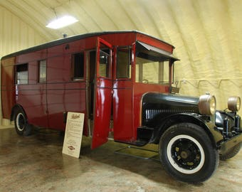 The First Motor Home Ever Made