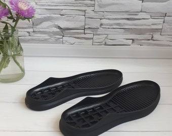 Black or White shoe soles for felted boots Women soles for felted shoes Female soles stitched shoes Outdoor soles