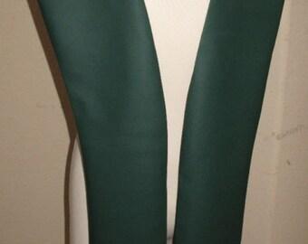 Dark Green pleather tabards in 10 sizes