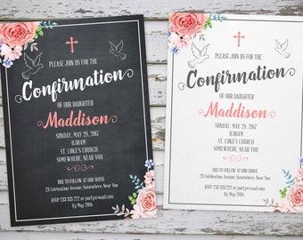 Confirmation invite Etsy