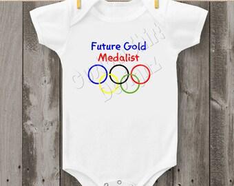 Olympics Baby Bodysuit or T-shirt (Design 4)