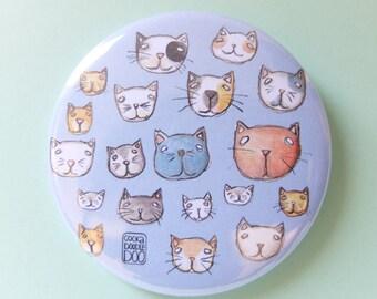 """Cats Badges 58"""""""