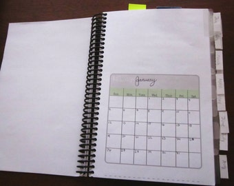 Printable: Blank Month Page Planner