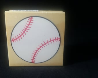 Baseball Recollections Used Rubberstamp