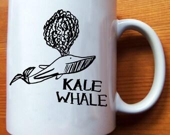 Kale Whale Mug