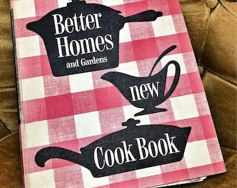 1953 Better Homes & Gardens new cookbook