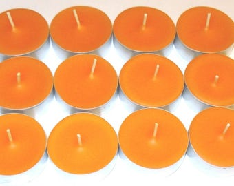 Cinnamon/Orange/Clove Scented Soy Tealight Candles Pick A Pack