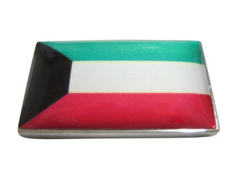 Kuwait Flag Pendant Magnet