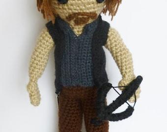 The Walking Dead, Daryl Dixon doll from The Walking Dead