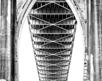 St Johns Bridge Details 3, Closeup, Portland Photography, Pacific NorthWest Photography, Bridges, Gift Prints, Fine Art Prints, Bridge Art