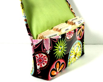 Coupon Organizer Holder, Ready to ship,  Receipt Holder, Budget Management, Carnival Bloom
