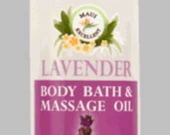 Organic Lavender Body Bath & Massage Oil
