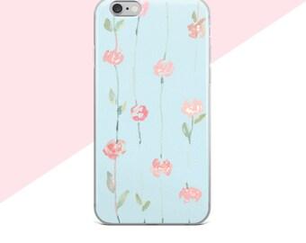 Samsung Galaxy S8 Case, Flower Phone Case, Samsung Galaxy S7 Case, iphone 7 Plus Case Floral, Samsung Galaxy S8 Plus Case, Cute iphone Cases