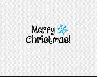 merry christmas svg dxf jpeg png file stencil monogram frame silhouette cameo cricut clip art commercial use