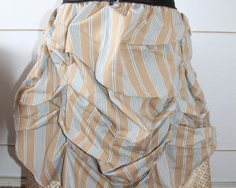 Bustle Steampunk Skirt plus size 18 20 22 24 Pagan Hippy