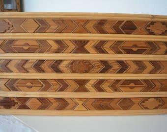 Wooden Indian Rug