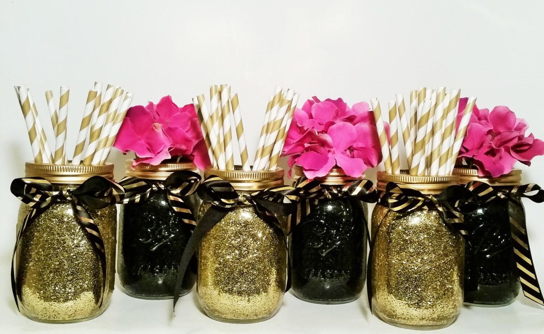 Graduation party decorations wedding centerpiece mason jar