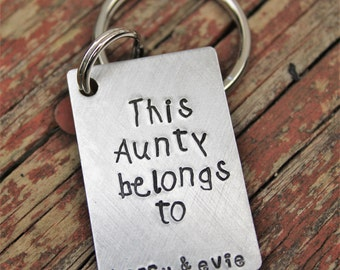 custom keychain for aunt personalized gift for aunt keychain for uncle christmas gift for aunt christmas gift for uncle custom keychain - Christmas Gifts For Aunts