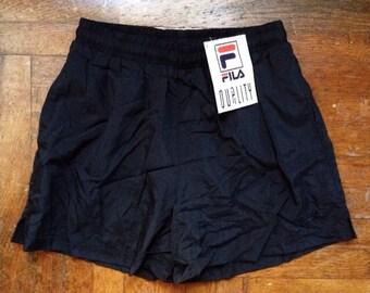 vintage FILA swim trunks mens size medium deadstock NWT 90s