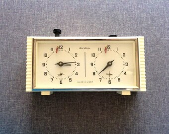 Soviet chess clock Jantar, Chess game timer made in USSR
