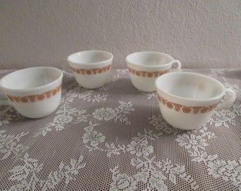 Vintage Pyrex Coffee Cups - 4