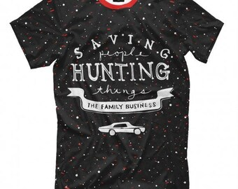 Supernatural  Saving People and Hunting Things Men's Women's All Sizes