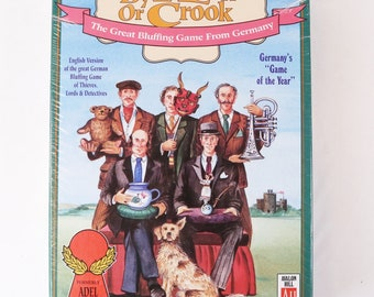 By Hook Or Crook Board Game - Avalon Hill Germany, 1991 AH - Sealed