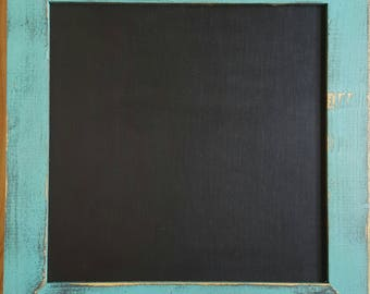 Country Rustic Wood Chalkboard Antique Finish
