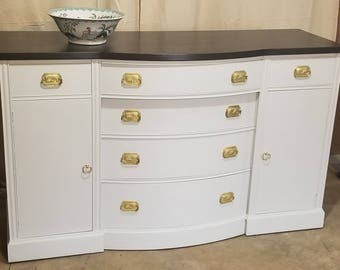Refinished Vintage Buffet - Selling Locally in Central VA