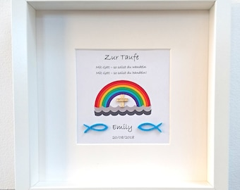 Baptism Baby Gift Personalized